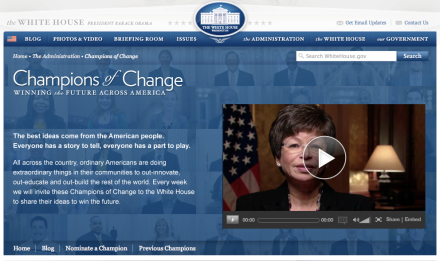 White House - Champion of Change