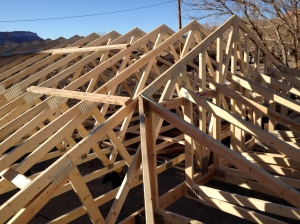 Look at all those trusses!