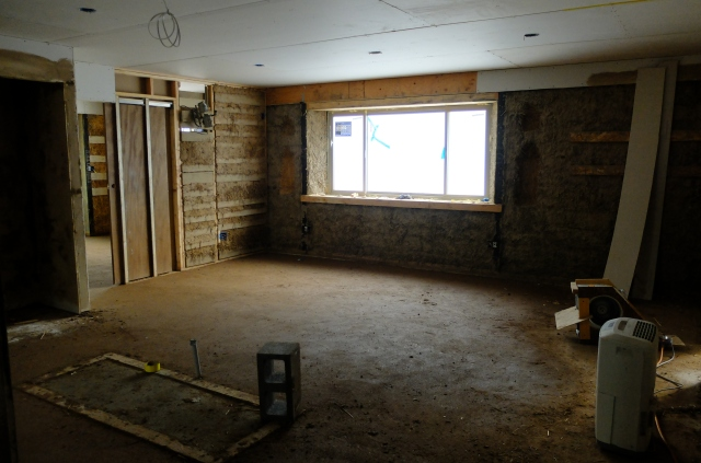 Drywall & Floor